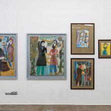 Mokarameh Ghanbari, Outsider Art Festival, Installation View, 2021