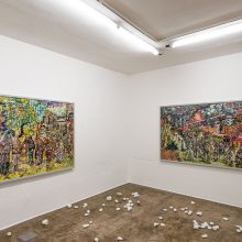 """""""Heading Utopia; Chapter 2: The Spring That Never Came"""" series, installation view, 2021"""