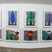Mahmoodkhan, Outsider Art Festival, Installation View, 2021