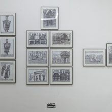 Kazem Ezi, Outsider Art Festival, Installation View, 2021