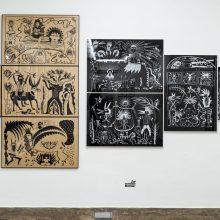 Nowraaz, Outsider Art Festival, Installation View, 2021