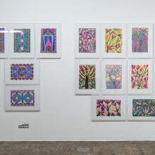 Salim Karami, Outsider Art Festival, Installation View, 2021
