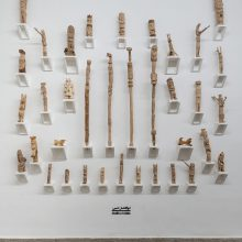 Abolfazl Amin, Outsider Art Festival, Installation View, 2021