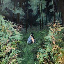 "Hanie Farhadinik, ""Don't be Afraid"", oil on canvas, 100 x 80 cm, frame size: 110 x 90 cm, 2020"