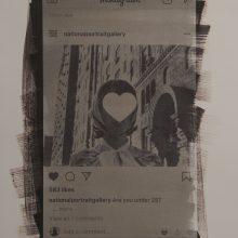 "Vahid Dashtyari, Untitled, From ""Pencil of Lie"" Series, Talbotype and Salt Print, Three Unique Editions, 40 x30 cm | 80 x 60 cm | 113 x 83 cm, 2019"