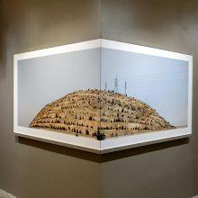 "Mehdi Abdolkarimi, from ""Among Highways"" series, installation view, 2015"