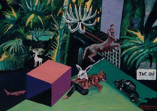 Daily Routine, Acrylic on Cardboard, 50 x 70 cm, 2015