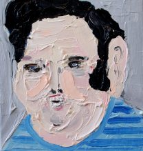 DavidbBerkowitz | 16 x 20 cm | Oil on Canvas | 2016