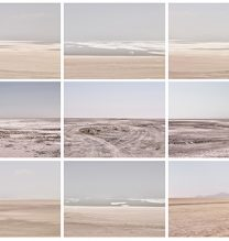 "Alireza Fani, ""Fake Desert"", from ""Fake Lake-Fake Desert"" series, polyptych (overall: 90 x 200 cm), archival print, each: 30 x 40 cm, edition of 7 + 2AP, 2014"