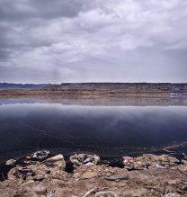 "Alireza Fani, ""Fake Lake No.3"", from ""Fake Lake-Fake Desert"" series, archival print, edition of 7 + 2 AP, 90 x 120 cm, 2014"