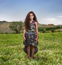 """Shania"",From ""Little Guardians"" series, 60 x 90 cm, 2016 , Curator: Tala Porbaha, Costume Design Director: Neda Nasr, Photograohy: Alireza Fani"