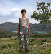 """Arashk"",From ""Little Guardians"" series, 60 x 90 cm, 2016 , Curator: Tala Porbaha, Costume Design Director: Neda Nasr, Photograohy: Alireza Fani"