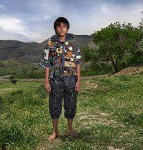 """Arsham"",From ""Little Guardians"" series, 60 x 90 cm, 2016 , Curator: Tala Porbaha, Costume Design Director: Neda Nasr, Photograohy: Alireza Fani"