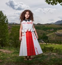"""Saghar"",From ""Little Guardians"" series, 60 x 90 cm, 2016 , Curator: Tala Porbaha, Costume Design Director: Neda Nasr, Photograohy: Alireza Fani"