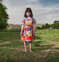 """Tara"",From ""Little Guardians"" series, 60 x 90 cm, 2016 , Curator: Tala Porbaha, Costume Design Director: Neda Nasr, Photograohy: Alireza Fani"