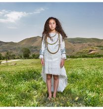 """Donya"",From ""Little Guardians"" series, 60 x 90 cm, 2016 , Curator: Tala Porbaha, Costume Design Director: Neda Nasr, Photograohy: Alireza Fani"