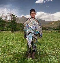 """Parsa"",From ""Little Guardians"" series, 60 x 90 cm, 2016 , Curator: Tala Porbaha, Costume Design Director: Neda Nasr, Photograohy: Alireza Fani"