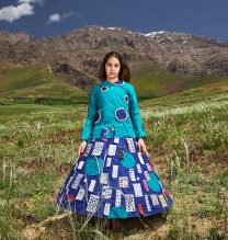 """Baran"",From ""Little Guardians"" series, 60 x 90 cm, 2016 , Curator: Tala Porbaha, Costume Design Director: Neda Nasr, Photograohy: Alireza Fani"