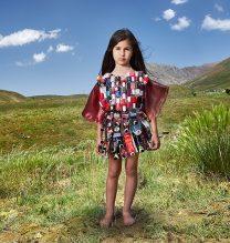 """Nikki"",From ""Little Guardians"" series, 60 x 90 cm, 2016 , Curator: Tala Porbaha, Costume Design Director: Neda Nasr, Photograohy: Alireza Fani"