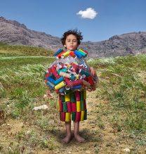 """Rasa"",From ""Little Guardians"" series, 60 x 90 cm, 2016 , Curator: Tala Porbaha, Costume Design Director: Neda Nasr, Photograohy: Alireza Fani"