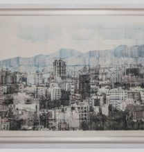 """Sasan Abri, untitled, from """"Exposed"""" series, image transferred on paper, unique edition, 85 x 115 cm, 2015-2018"""