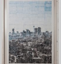 """Sasan Abri, untitled, from """"Exposed"""" series, image transferred on paper, unique edition, 115 x 85 cm, 2015-2018"""