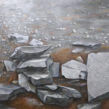 Alireza Rajabi, untitled, acrylic on canvas, 192.5  x 183.5 cm, 2019