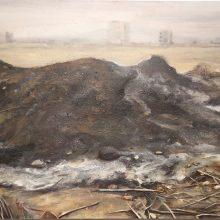 Mahsa Nouri, untitled, oil on canvas, 60 x 100 cm, 2019