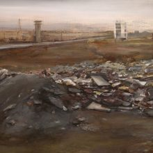 Mahsa Nouri, untitled, oil on canvas, 70 x 100 cm, 2019