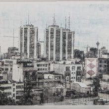 "Sasan Abri, untitled, from ""Exposed"" series, image transferred on paper, unique edition, 85 x 115 cm, 2015-2018"
