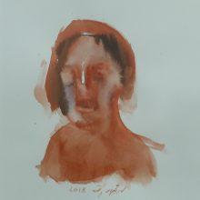 Seyed Mohamad Mosavat, untitled, mixed media, 45 x 35 cm, 2018
