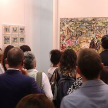 "Mohsen Gallery at ""Contemporary Istanbul 2018"", installation view, 2018"