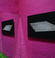 """Aliyar Rasti, """"Place""""(detail), installation at Pasio, 2018"""