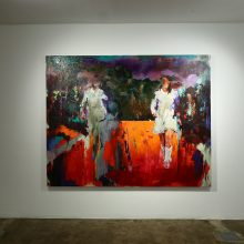 "Amir-Hossein Zanjani, ""Factory 02"" group exhibition, installation view, 2019"