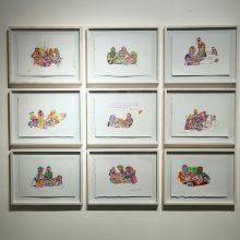 "Seyed Mohamad Mosavat, ""Factory 02"", group gxhibition, installation view, 2019"