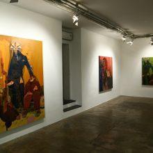 "Sourena Zamani, ""Still Life"" series, installation view, 2017"