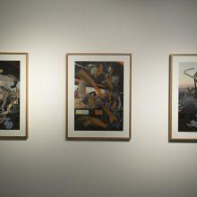 "Negar Karimkhani, from ""Tehran's Pallet"" series, installation view, 2018"