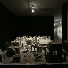 "Sara Qods, ""Toy -1 # Tabula rasa"", installation view, 2018"
