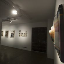 "Niloufar Fallahfar, from ""Lost Angles"" series, installation view, 2018"