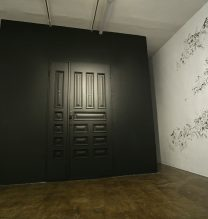 """Masoumeh Mohtadi, """"Graphical Reality"""", installation view, 2018"""