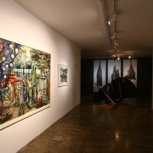 "Behrang Samadzadehgan, ""Factory 01""  group exhibition, installation view, 2018"