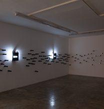 "Arya Tabandehpoor, ""Corruption"" series, installation view , 2018"