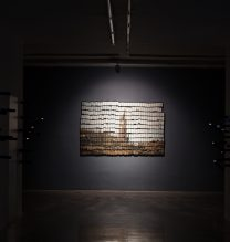 "Arya Tabandehpoor, ""Connection"" series, installation view, 2018"