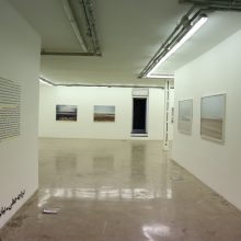 """Fake Lake-Fake Desert"" series, installation view"