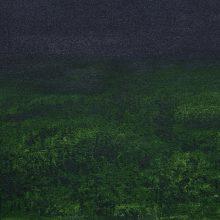 Alireza Rajabi, Untitled, acrylic on canvas, 20 x 26.5 cm, 2017