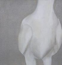 Alireza Rajabi, Untitled, acrylic on canvas, 22 x 29.5 cm, 2017