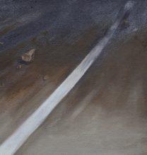 Alireza Rajabi, Untitled, acrylic on canvas, 20.5 x 27 cm, 2017