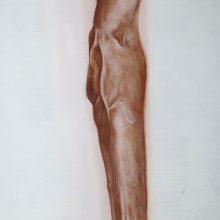 Alireza Rajabi, Untitled, acrylic on canvas, 69 x 90 cm, 2017