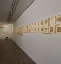 "Majid Biglari, from ""The Experience of Dishevelment"" series, installation view, 2017"