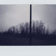 """Mehrdad Afsari, untitled, from """"Past Indefinite Tense"""" series, polaroid photo, 8.5 x 10.5 cm, unique edition, 2019"""